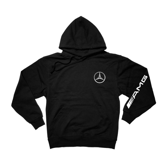 Other - AMG Sleeved Black Pullover hoodie